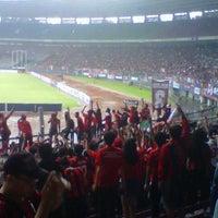 Photo taken at Kompleks Gelora Bung Karno by Aryo W. on 2/9/2013