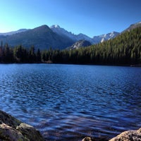 Photo taken at Rocky Mountain National Park by Anne L. on 10/8/2012