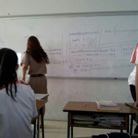 Photo taken at 10B CLASS ROOM by Thanwa on 11/29/2012