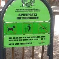 Photo taken at spielplatz rutschbahn by Tom A. on 7/18/2013