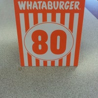 Photo taken at Whataburger by Cody J. on 4/21/2013