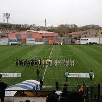 Photo taken at Yusuf Ziya Öniş Stadyumu by Burak C. on 4/7/2013