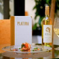 Photo taken at Platina Restaurant & Garden by Platina Restaurant & Garden on 12/24/2013