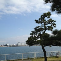 Photo taken at 暁ふ頭公園 by 抹茶 on 3/4/2013