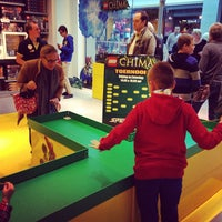 Photo taken at LEGO Store by Geert V. on 10/12/2013