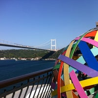 Photo taken at Borusan Contemporary by Deniz K. on 9/16/2012