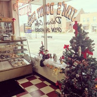 Photo taken at Jim's Donut Shop by Margo on 12/10/2015