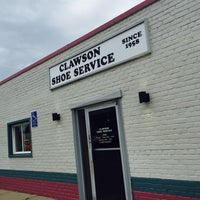 Photo taken at Clawson Shoe Repair by Margo on 5/30/2015