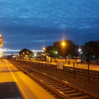 Photo taken at Mountain View Caltrain Station by Anna S. on 3/26/2013