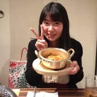 Photo taken at すすきのホルモン焼 龍ちゃん by Erika H. on 12/8/2012