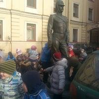 Photo taken at Памятник Городовому by Екатерина on 2/24/2014
