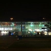 Photo taken at Liverpool John Lennon Airport (LPL) by Einars G. on 11/9/2012