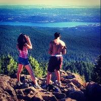 Photo taken at Seymour Mountain by Daman B. on 9/1/2013