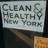 Photo taken at Clean And Healthy NY by Eyad A. on 5/29/2013