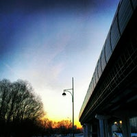 Photo taken at metro Ulitsa Gorchakova by Анна Я. on 2/28/2013