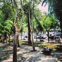 Photo taken at Avenida da Liberdade by Elina on 7/15/2013