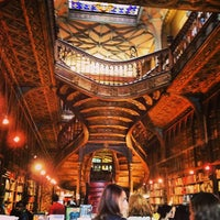 Photo taken at Livraria Lello by Elina on 7/12/2013