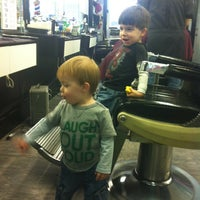 Photo taken at Act 1 Barber Shop by Vanessa P. on 1/9/2013