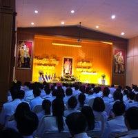 Photo taken at ศาลาประชาคมอำเภอบ้านหมอ by Lookpeach on 12/5/2013