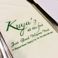 Photo taken at Kuya's at the Fort by Leona Criselda T. on 4/1/2014