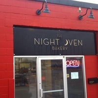 Photo taken at The Night Oven Bakery by Jordon C. on 4/23/2014