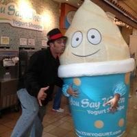 Photo taken at You Say When Yogurt Shoppe At Westshore Plaza by 🔥FireballTony 🍻 on 12/22/2012