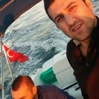 Photo taken at denizin ortası by Serdar on 10/20/2014