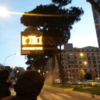 Photo taken at Piazzale Jonio by Giuseppe U. on 4/4/2013