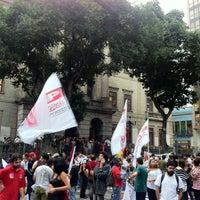Photo taken at Instituto de Filosofia e Ciências Sociais (IFCS) by Thiago F. on 6/27/2013