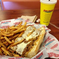 Photo taken at Penn Station East Coast Subs by Flávio A. on 12/29/2012