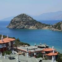 Photo taken at Perili Bay Resort by Ozge E. on 9/15/2012