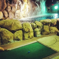 Photo taken at Congo River Miniature Golf by Shannon S. on 9/26/2012