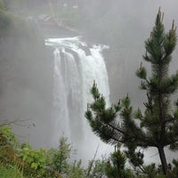 Photo taken at Snoqualmie Falls by Tiger L. on 5/26/2013
