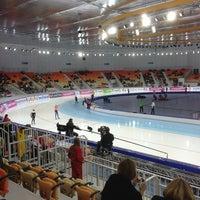 Photo taken at Adler Arena by Oleg on 3/24/2013