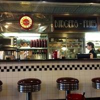 Photo taken at Moonlite Diner by Karina on 1/6/2013