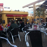 Photo taken at Kiosko de los Leones by Eraser H. on 12/27/2012