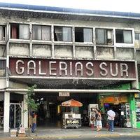 Photo taken at Galerías Sur by Juan I. on 2/24/2014