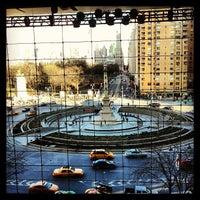 Photo taken at Columbus Circle by Conrad W. on 3/23/2013
