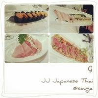 Photo taken at JJ Japanese Thai by MyFabulous G. on 10/23/2013