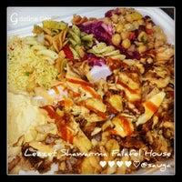 Photo taken at Lezzet Shawarma Falafel House by MyFabulous G. on 11/27/2013