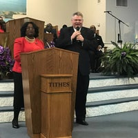 Photo taken at New Haven Missionary Baptist Church by Andrew B. on 3/4/2018