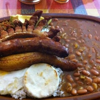 Photo taken at La Fonda Paisa by Pauli S. on 11/15/2012