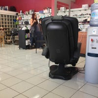 Photo taken at Hairs to You by Julie Y. on 1/8/2013
