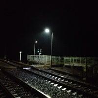 Photo taken at Ж/Д платформа Ямуга by Иван Ж. on 3/15/2014