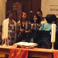 Photo taken at Harold O. Davis Memorial Baptist Chuch by Khai V. on 5/18/2014