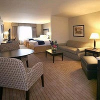 Photo taken at Holiday Inn Express & Suites Madison-Verona by Charlie E. on 9/26/2013