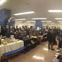 Photo taken at Columbus Ave Flea Market by Sean A. on 12/30/2012