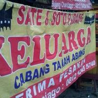 """Photo taken at Sate & Soto Padang """"Keluarga"""" by Hendra E. on 4/5/2014"""