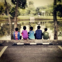 Photo taken at Danau Universitas Terbuka (UT) by Hendra E. on 4/5/2014