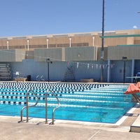 Photo taken at Aquatic Center by Stu B. on 7/21/2014